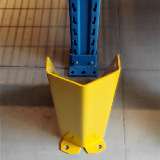 yellow column guard for pallet rack