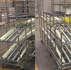Custom Flow Rack & Workstations