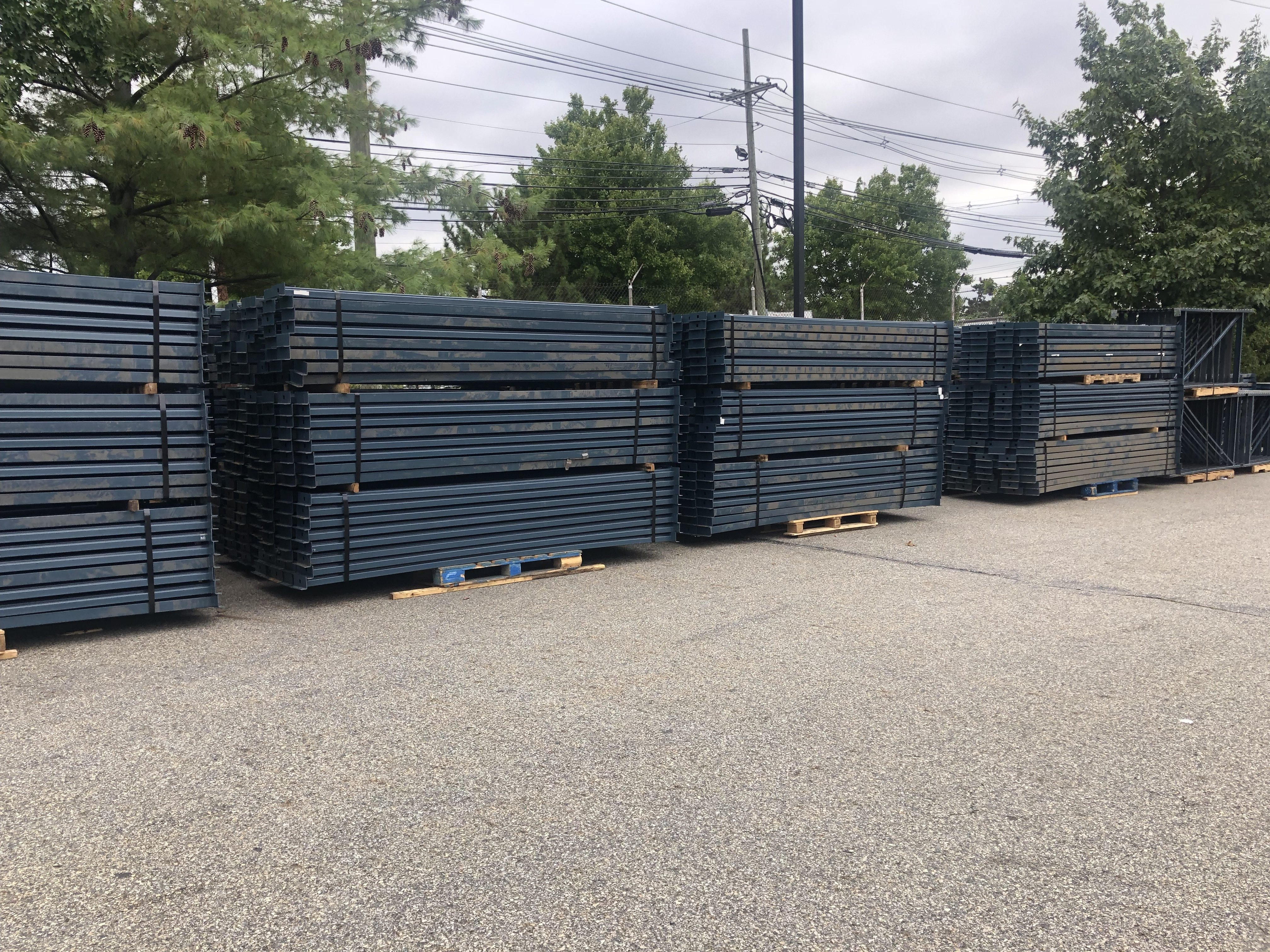 Used Unarco T-Bolt Beams