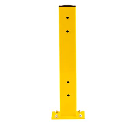 heavy duty yellow column guard rail