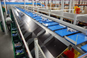 Optimus Flat good sorter- E-commerce-Fulfillment Center