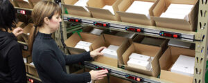 Pick to Light-E-commerce-Fulfillment Center