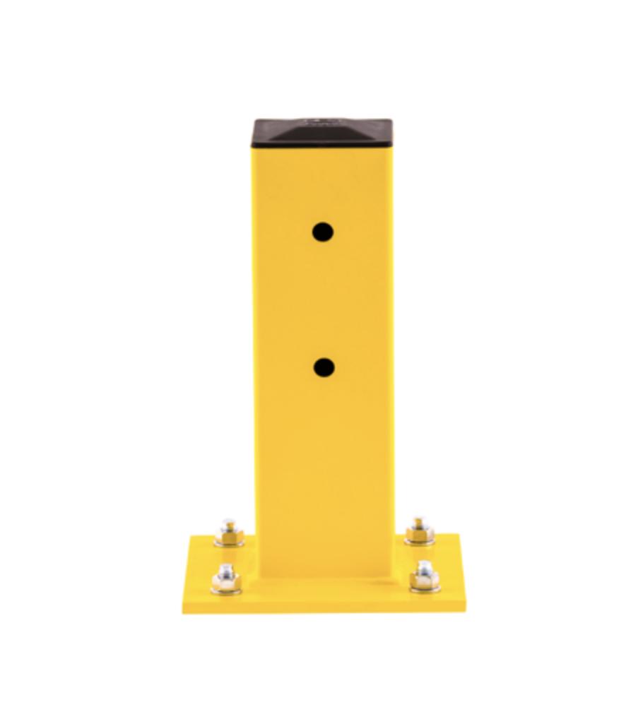 yellow column guard for pallet rack