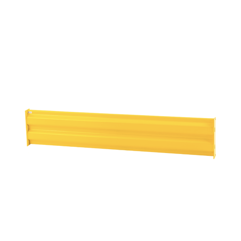 yellow guard rail