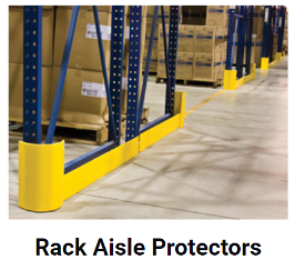 Rack Aisle Protectors - Protect your Racking