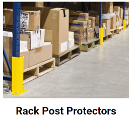 Rack Post Protectors - Protect your Racking