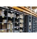 Storganizer in rack storage solutions